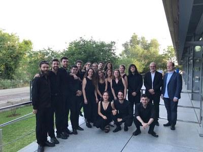 Ensemble de Música Contemporánea del Conservatorio de Música Manuel Castillo de Sevilla