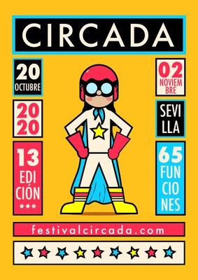 Festival Circada de Sevilla. 'Gala, Sevilla Increíble pero Circo vol.2'