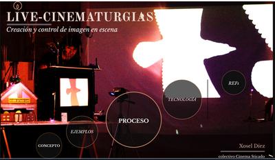 Clase Magistral: Live Cinematurgias (Orientaciones para la creación y control de imagen en escena)