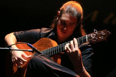 Francisco Moncayo, guitarrista flamenco ganador de la edición 2019