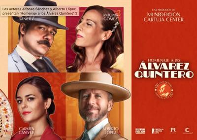 Homenaje a los Álvarez Quintero