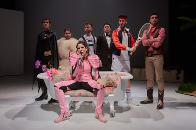 'Man Up', Teatro en Vilo / Andrea Jiménez y Noemi Rodríguez