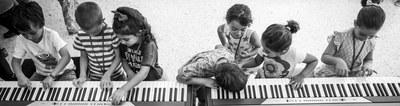 Taller de percusión. Para niños/as a partir de 3 años y  progenitores