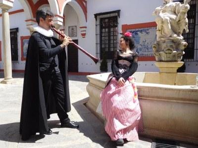 'Te labra prisión mi fantasía'. Jacobo Díaz, oboe barroco/Cynthia Luque, recitación
