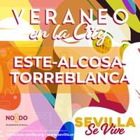 Veraneo en la city 2020. Distrito Este-Alcosa-Torreblanca