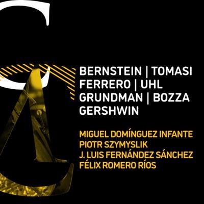XXXII Ciclo de Música de Cámara de la ROSS. Clarinetes: Miguel Domínguez Infante y Piotr Szymyslik / Clarinete/clarinete mib: José Luis Fernández Sánchez / Clarinete/clarinete bajo: Félix Romero Ríos