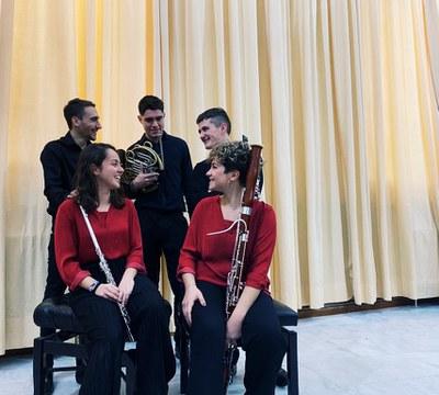 "XXXII Ciclo de Música de Cámara de la ROSS.Programa Conservatorio Superior de Sevilla ""Manuel Castillo"