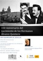 150 aniversario de los Hermanos Álvarez Quintero