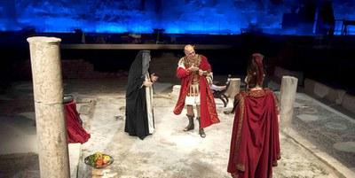 Los restos romanos del Antiquarium acogen una nueva temporada del espectáculo 'Poncio Pilato'