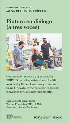 Mesa redonda: 'Pintura en diálogo (a tres voces)'