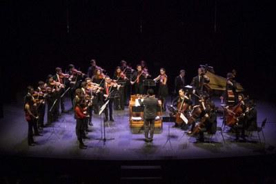 Joven Orquesta Barroca de Sevilla. Solistas de la OBS