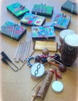 Ritmo y percusión creativa con instrumentos reciclados