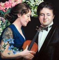Tommaso Cogato, piano. Mariarosaria D´Aprile, violin