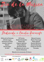 Día de la Música.- Espectáculo dedicado a Emilio Caracafé
