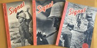 La Hemeroteca Municipal recibe la donación de varios ejemplares de la revista Signal editados en español