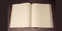 El Taller de Encuadernación del SAHP confecciona a la holandesa un elegante libro de firmas