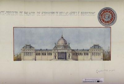 Un  Palacio de Exposiciones en Sevilla en 1902. Un proyecto inacabado