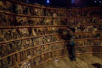 'Biblioteca de cuerdas y nudos'. José Antonio Portillo. C. Valenciana