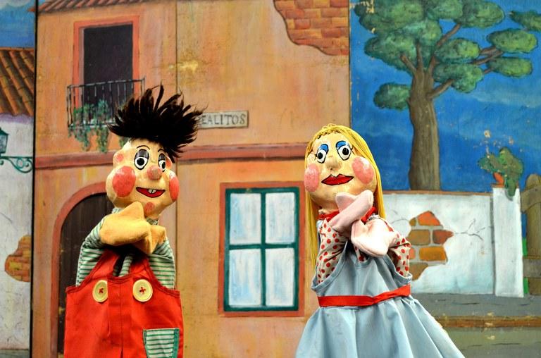 Juanito y María
