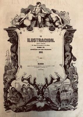 El SAHP adquiere el año 1853 del diario 'La Ilustración'