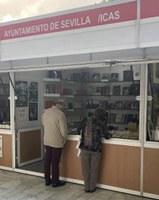 El ICAS-SAHP presente en la 41ª Feria del Libro Antiguo y de Ocasión de Sevilla