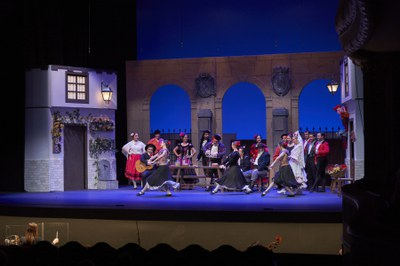 El Teatro Lope de Vega recibe este fin de semana a la Compañía Sevillana de Zarzuela con La patria chica, de los hermanos Álvarez Quintero