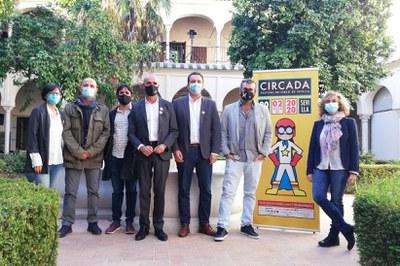 El Ayuntamiento de Sevilla respalda una nueva edición de Circada, enfocada en el clown  y el humor