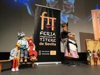 La compañía malagueña El Espejo Negro protagoniza el arranque de la Feria Internacional del Títere