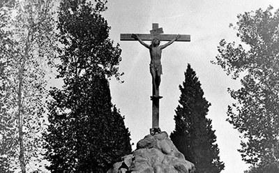 Restauración del Cristo de las Mieles del Cementerio San Fernando