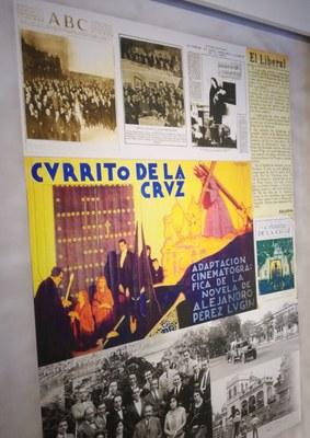 Documentos del SAHP en la exposición del IV Centenario de N. P. Jesús del Gran Poder: rodaje de la película 'Currito de la Cruz' (1925)