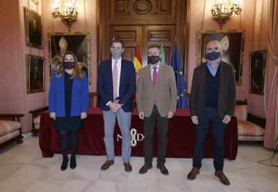 El Ayuntamiento y la Real Orquesta Sinfónica de Sevilla  firman un convenio para la difusión y participación de los proyectos educativos de la ROSS