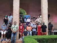 El arranque del ciclo 'Noches de verano en el Palacio de los Marqueses de la Algaba' marca la agenda cultural del fin de semana