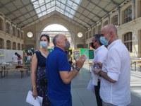 El Ayuntamiento avanza en el centro cultural CentQuatre de París en el modelo de gestión y estrategia de innovación para Fábrica de Artillería y establece líneas de colaboración con  Factoría Cultural