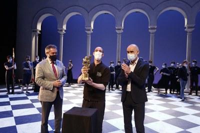 El Ayuntamiento concede el Giraldillo Ciudad de Sevilla de la Bienal de Flamenco al Ballet Nacional de España en el centenario de Antonio Ruiz Soler