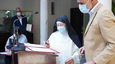 El Ayuntamiento impulsa una inversión de 570.700 euros para obras de conservación y rehabilitación del convento de San Leandro y las capillas de San José y Madre de Dios