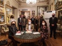 El Ayuntamiento y la Asociación Autismo Sevilla firman un convenio para implantar un itinerario cognitivo de acceso universal en Casa Fabiola-Donación de Arte Mariano Bellver