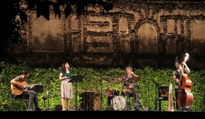 El ciclo de conciertos 'Noches en los Jardines del Real Alcázar' se adentra en su penúltima semana tras acumular hasta ahora casi 18.000 asistentes