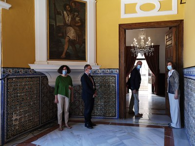El Cuarto Real Alto del Real Alcázar de Sevilla reabre al público desde mañana con 8 pases diarios de lunes a domingo y refuerza el atractivo del monumento para las visitas y la reactivación del turismo
