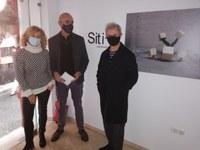 El delegado de Hábitat Urbano, Cultura y Turismo visita el espacio artístico SITIO, en el marco del festival Contenedores