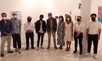 El Espacio Santa Clara acoge la exposición 'El tiempo entre las hojas', con obras de más de 40 artistas como Rubén Guerrero, Luis Gordillo, Miki Leal o Federico Miró