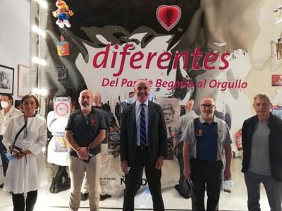 El Espacio Santa Clara acoge la primera exposición celebrada en España dedicada a la historia de la cultura queer