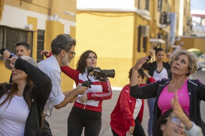 El programa 'Bailar mi Barrio', promovido por el ICAS, llega en su nueva edición a los distritos Macarena y Nervión