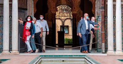 El Real Alcázar de Sevilla reabre sus puertas el 15 de junio con un itinerario ordenado, aforado y seguro y una programación cultural al completo