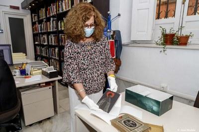 El Servicio de Archivo, Hemeroteca y Publicaciones incorpora a su colección 23 placas de vidrio de la Hermandad de la Trinidad