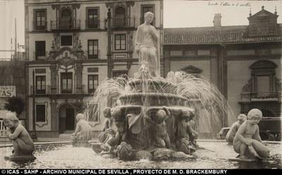 Restauración de la Fuente de la Puerta de Jerez