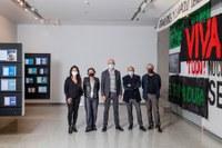 La Sala Atín Aya acoge la nueva propuesta expositiva de Isaías Griñolo e Inmaculada Salinas sobre arte y política
