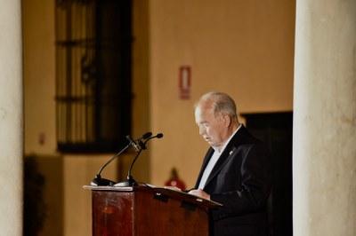 El Ayuntamiento de Sevilla rendirá homenaje a Manuel Herrera, exdirector de la Bienal de Flamenco y pregonero en la última edición