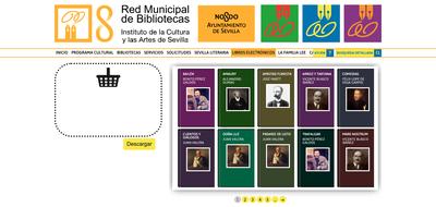 La web de la Red Municipal de Bibliotecas de Sevilla registra 104.415 descargas de libros electrónicos en el primer semestre del año