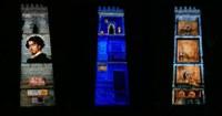Llega a la Torre de Don Fadrique el vídeo mapping que recrea el universo de Bécquer