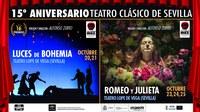 El Teatro Lope de Vega del ICAS celebra el 15 aniversario de la Compañía de Teatro Clásico de Sevilla
